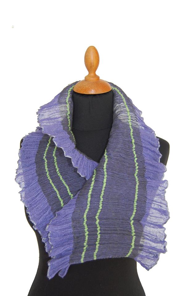Væv P9: Flæsetørklæde